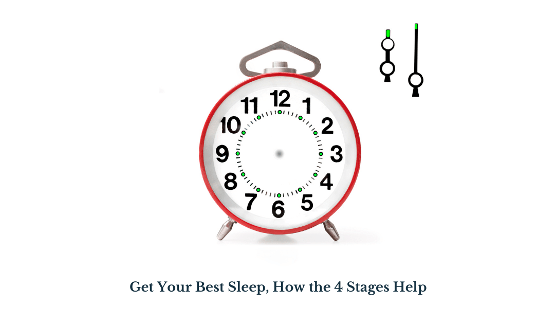 Get Your Best Sleep, How the 4 Stages Help.
