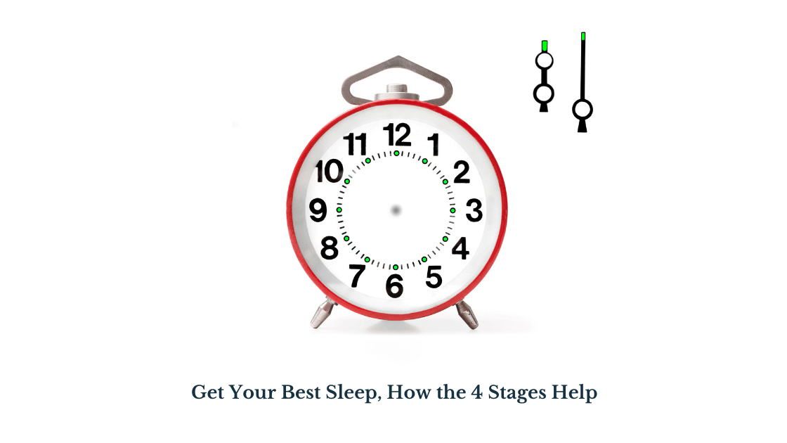 Get Your Best Sleep, How the 4 Stages Help